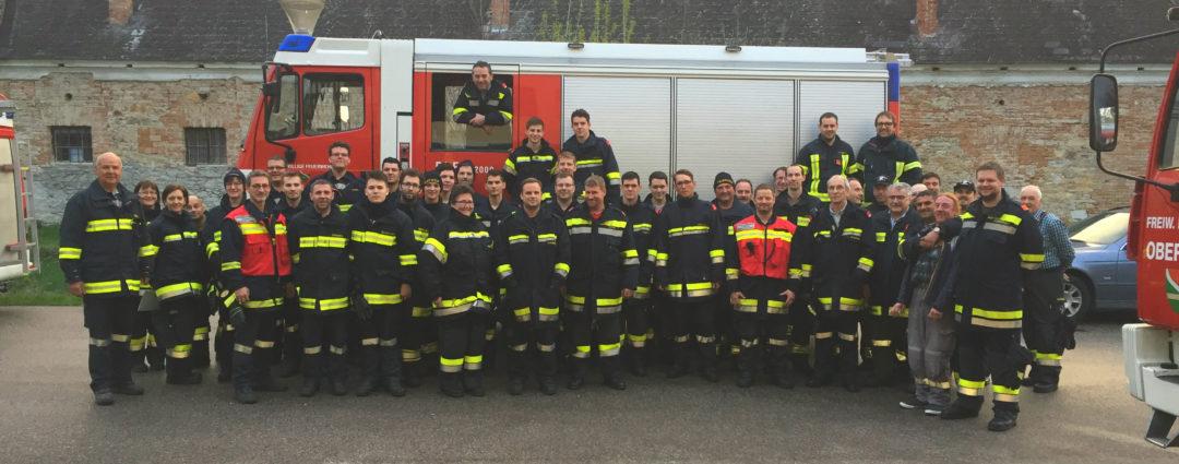 Feuerwehrinspektionen in der Marktgemeinde Furth bei Göttweig