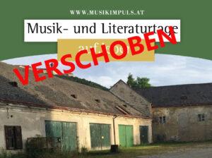 VERSCHOBEN: Auf.Leben Musik- und Literaturtage @ Meierhof Furth (neben der Kirche) | Furth bei Göttweig | Niederösterreich | Österreich