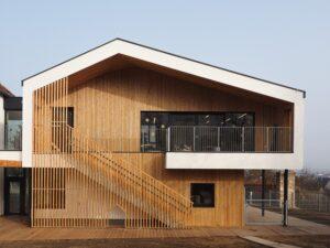 ORTE vor Ort - Bauvisite: Kindergartenzentrum Furth @ NÖ Landeskindergarten Furth bei Göttweig | Furth bei Göttweig | Niederösterreich | Österreich